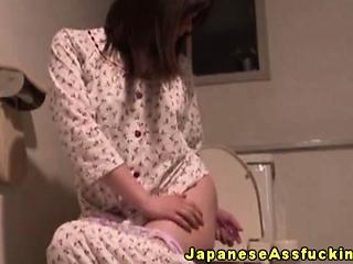Japanese mature masturbating