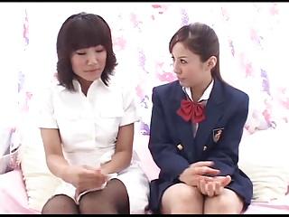 Japanese Lesbians (Cute..