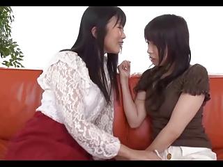 Japanese Lesbians (3 couples..