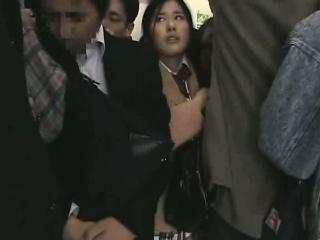 Schoolgirl groped..