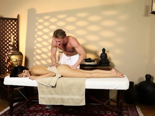 Asian indulge pounded on the..