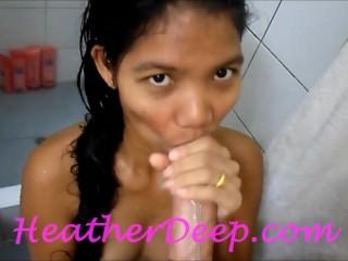 Heather Deep 1st Shower deep..