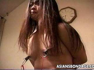 Loud ass Asian slut getting..