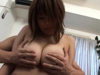 Subtitled BBW tan Japanese..