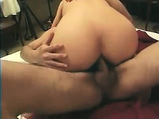 Full-grown fattie is anal..