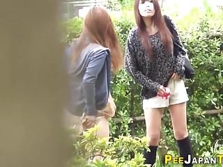 Kinky teen wets her pants