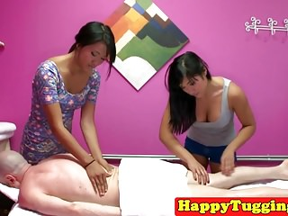 Massage asians slog and..