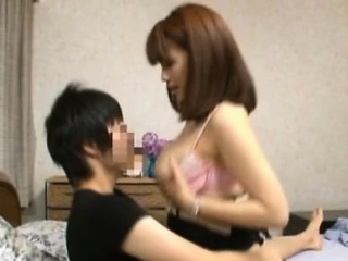 Japanese milf with extensive..