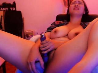 Bbw masturbating on webcam..