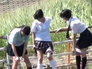 Naughty japan teens..