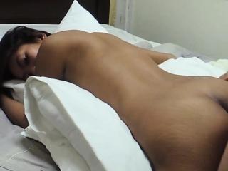 Oriental seductress gets her..