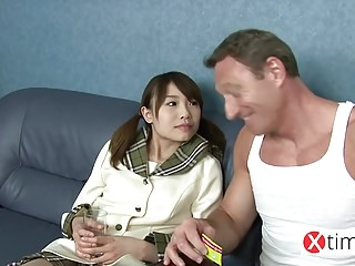Baby doll Japanese girl, her..