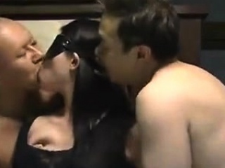 Hubby let 2 men fuck his..