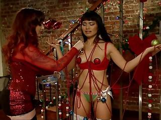 Asian Teen Lackey Christmas..