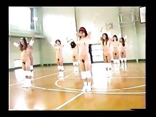 Nude Japanese  Gymnasium..