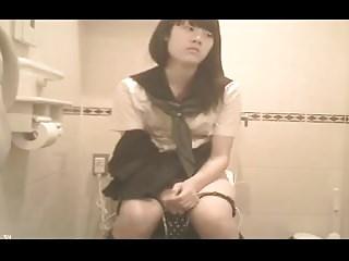 Japanese Schoolgirl Bathroom..