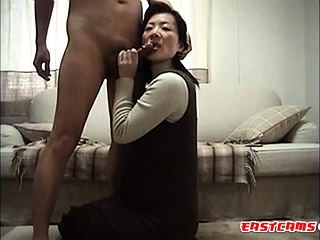 japanese become man licking..