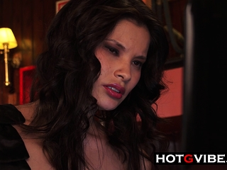 Sizzling Asian Squirts In Cafe