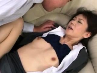 Hawt japanese older gets her..