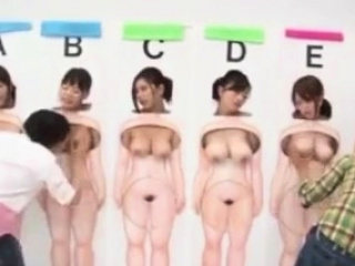 Japanese TV Sex Step Guess..