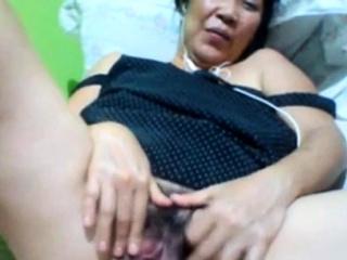 Filipino granny 58 having it..