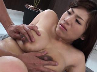 Busty housewife, Satomi..