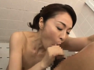 Asian Shower Leads To Four..