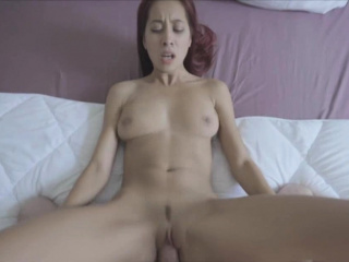 Redhead Asian girlfriend..