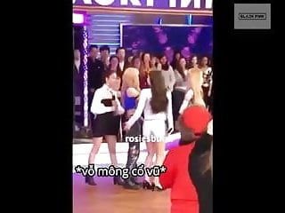 Korean celeb blackpink slap..