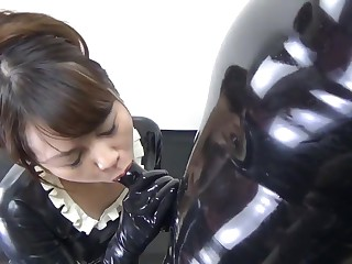 Japanese Latex Crumpet and..
