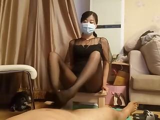 chinese teacher stocking..