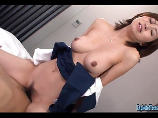 Jav Schoolgirl Rina Fucks..