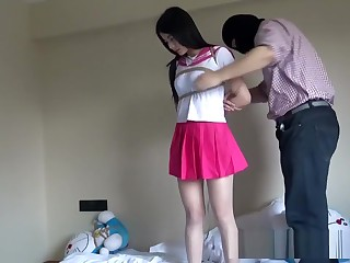 Chinese Schoolgirl Pledged