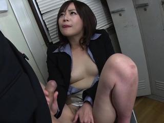 Japanese secretary, Asuka..