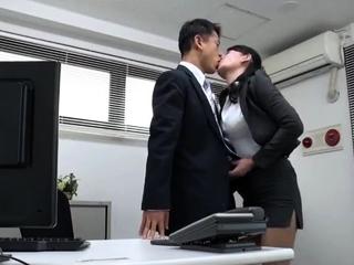Lovely Asian public blowjob..