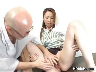 Omoe Hinatsu Cooks Up Sex..