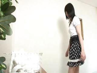 Hot Japanese Lesbian Rub..